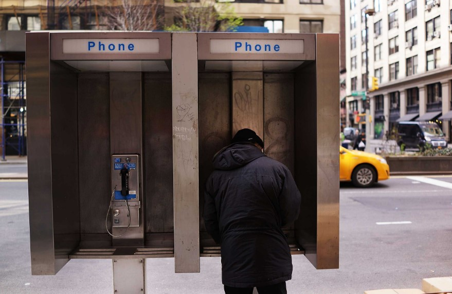 Making a Payphone at the Public Phone or Payphone