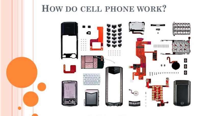 How the cellular phone actually work
